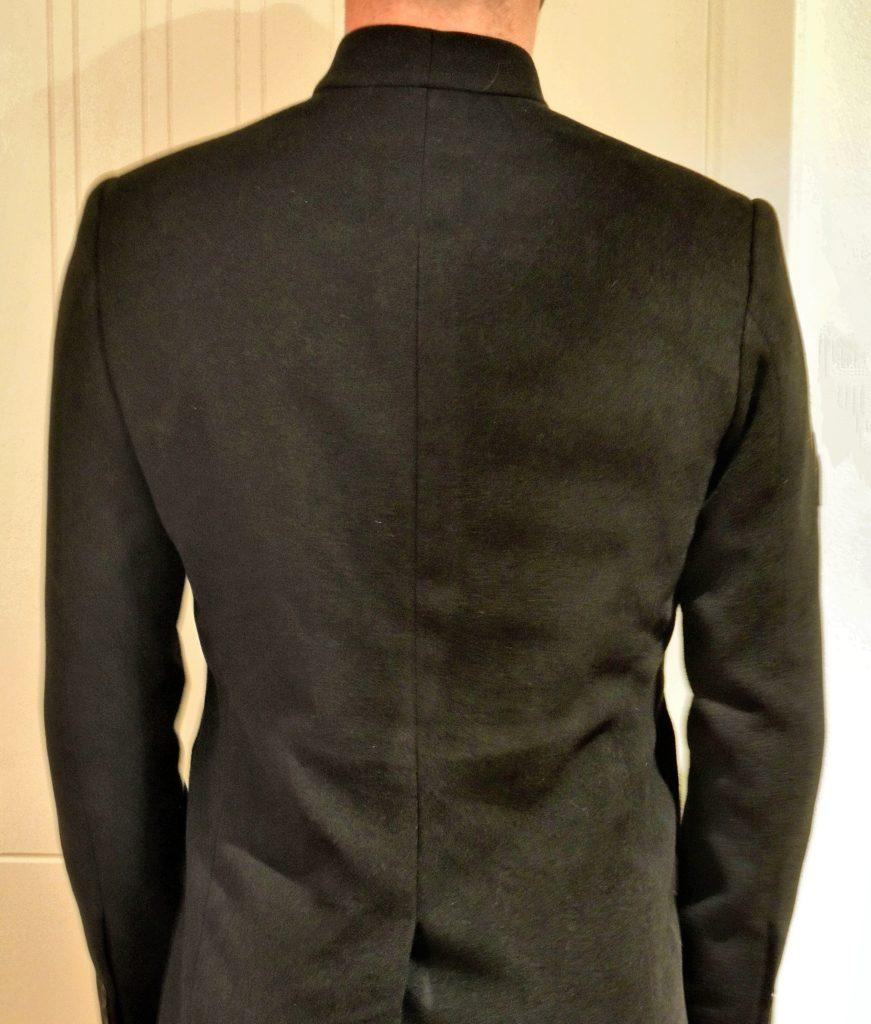 Manteau sur-mesure homme
