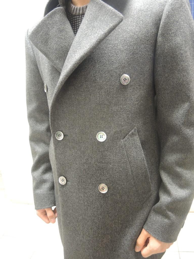 Manteau avec col Napoléon