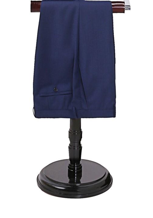 Pantalon sur vallet bleu-nuit