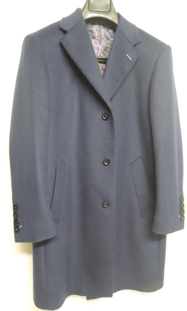 Manteau cachemire sur-mesure
