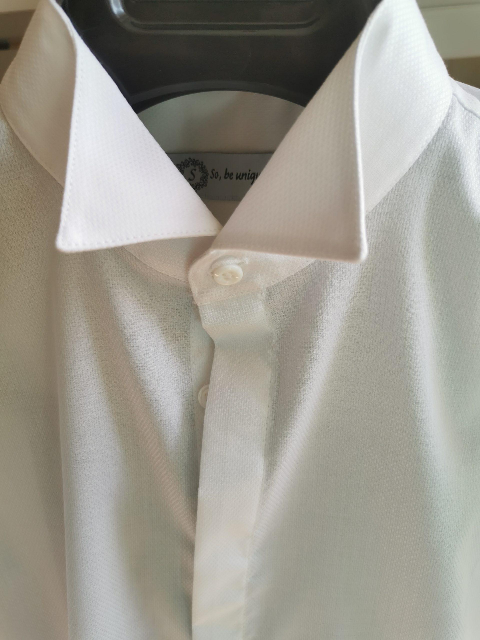 Chemise avec col cassé Tuxedo
