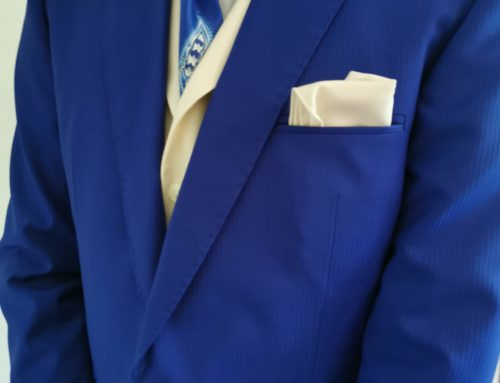 Mariage en bleu-azur